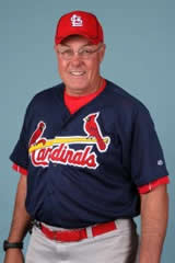 St. Louis Cardinals Pitching Instructor Brent Strom